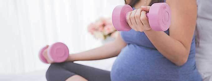 Спорт по време на бременност